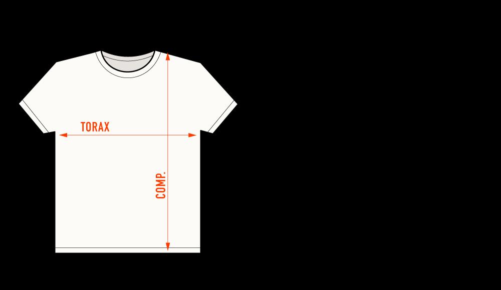 tabela de medida CLASSIC