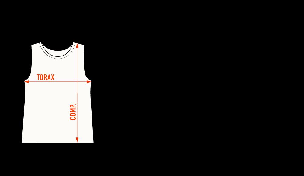 tabela de medida REGATA