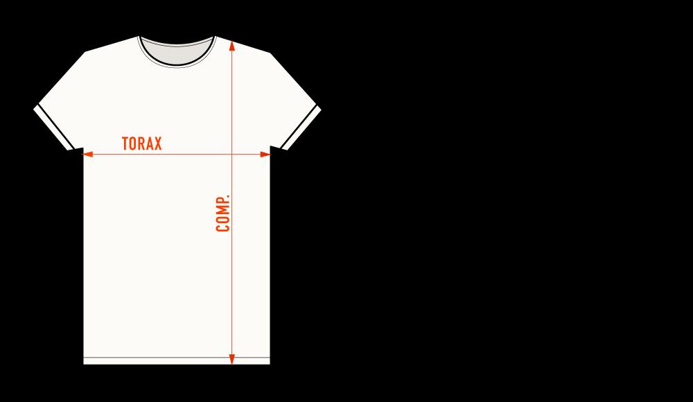 tabela de medida LONG