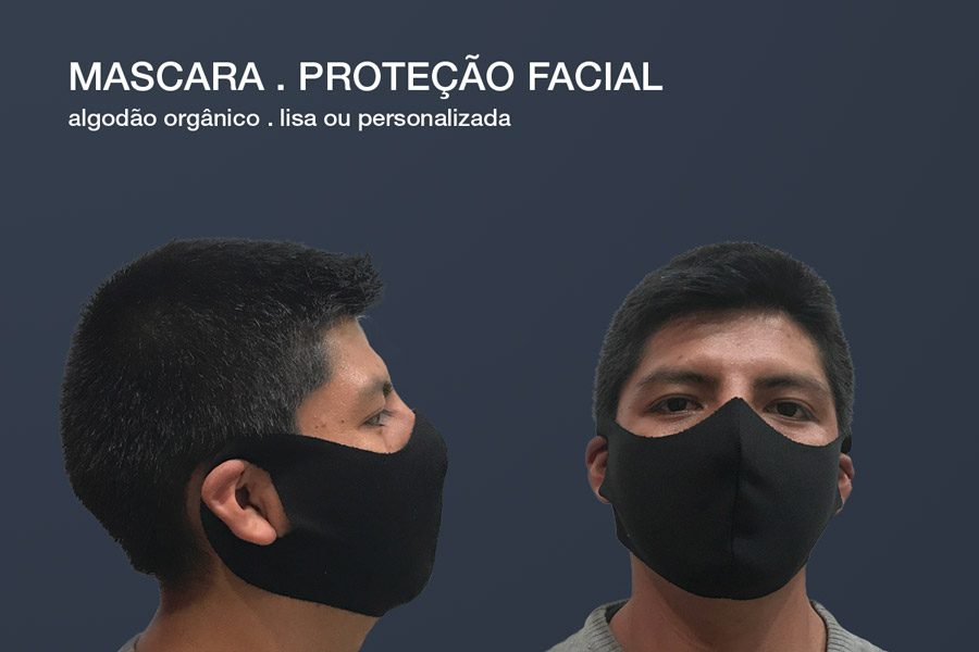 Máscaras de proteção facial